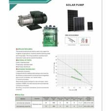 پمپ سطحی خورشیدی 1000 وات یک اینچ